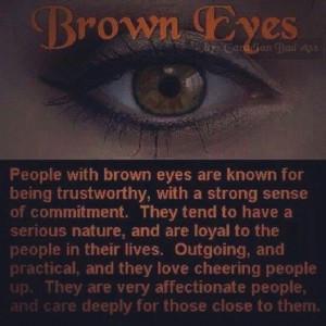 people with brown eyes