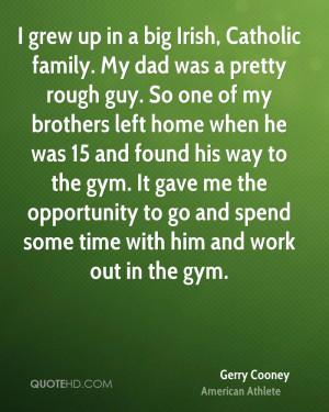 Big Irish Family Quotes