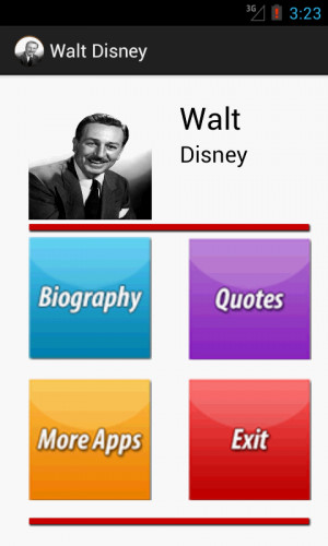 walt disney a short biography A man of dreamshe dreamed big dreamsand he made his dreams come true presentation by:sana rafiqmba(mm)3rd sem.