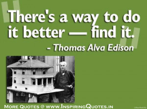 ... Thomas Alva Edison Quotes Incoming search terms:thomas alva edison
