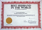 Do you have the best Husband in the world?