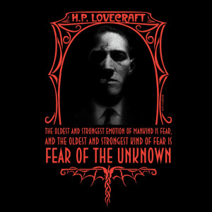 Hp Lovecraft Quotes Hp lovecraft fear of the