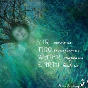 Air, Fire, Water, & Earth