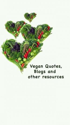Pro vegan: free app (vegan blogs, quotes, etc.)