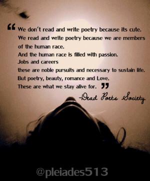 Dead Poets Society Quotes Dead poets soc