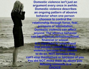Domestic Violence Survivors... Stay strong...