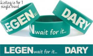 Legendary Wristband Barney Stinson Legen Wait for It Dary