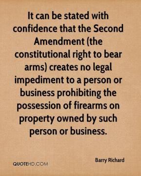 Second Amendment Quotes