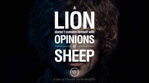 sheep. Game of Thrones Quotes pinterest instagram facebook twitter HBO ...