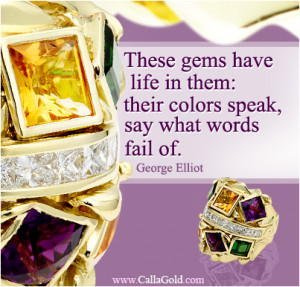 ... Gems of Wisdom where I share my love of quotations and jewelry design