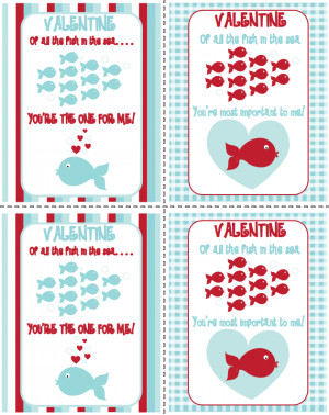 Free Valentine: Of All The Fish In The Sea...