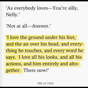 love and hate relationship in wuthering heights