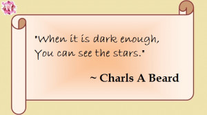 quotes to make you think: darkness and stars