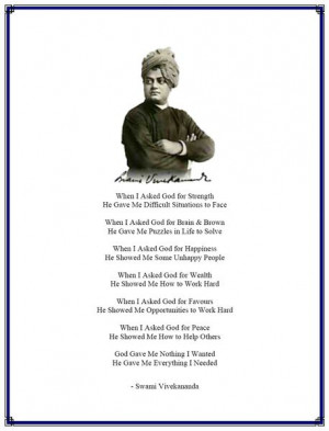 know India, study Vivekananda. In him everything is positive and ...