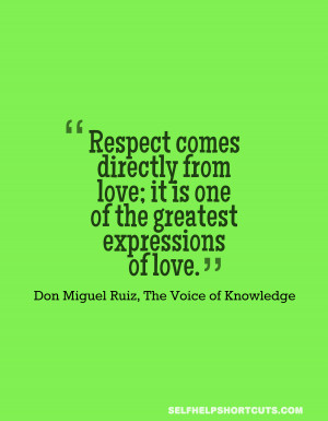 ... It Is One Of The Greatest Expressions Of Love The Voice Of Knowledge