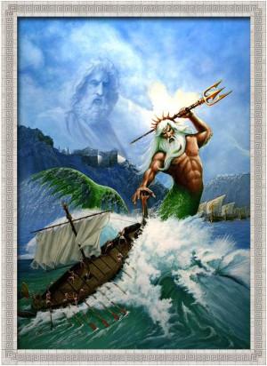 Poseidón, Amo y señor de los mares, te otroga el poder de un buen ...