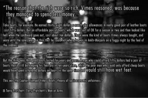 Vimes' Boot Theory