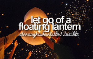 beautiful, bucket, floating lantern, lantern, list