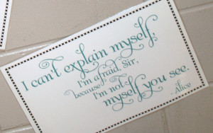 Mad Hatter Quote Tattoo For - mad hatter quotes.