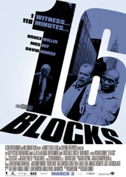 16 Blocks is a 2006 thriller directed by Richard Donner starring