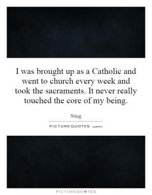 Sacraments Quotes