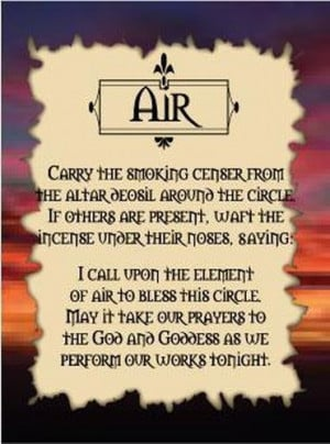 Air is commonly associated with mental activity and is considered ...