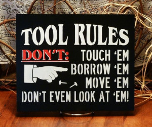 wood signs with sayings | ... ) Painted Wood Funny Sign, Man Cave ...