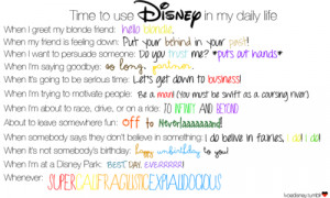 disney movie quotes about life