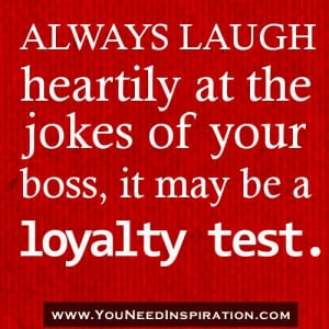 Funny Quotes About Your Boss