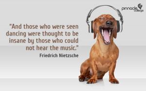 Humorous Music Quote