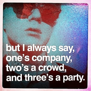 andywarhol #sayings #party #parties #crowds