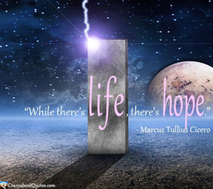 Great Quotes About Hope, Best Quotes On Hope, Famous Quotes for Hope ...