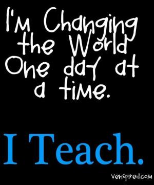 Teaching Quotes