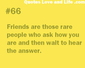 Another Friendship Quote Friends Are Those Rare People Funny