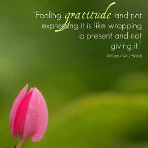 Gratitude quotes inspire gratitude and love, keys to abundance