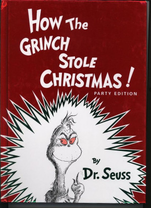 1985 How the Grinch Stole Christmas by Dr Seuss ;almost new perfect ...