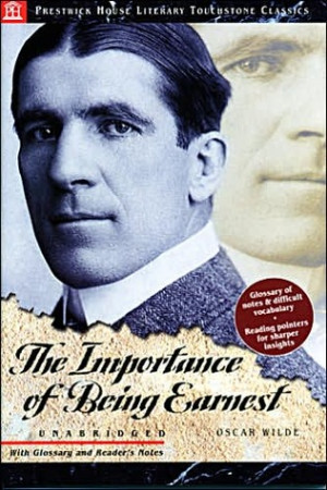 "... by marking ""The Importance of Being Earnest"" as Want to Read"