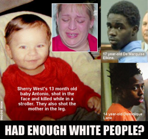 Violent Blacks Now Killing White People AT WILL