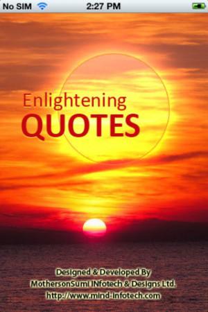 Enlightening Quotes ++