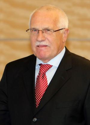 Vaclav Klaus Czech...