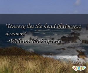 Uneasy Quotes