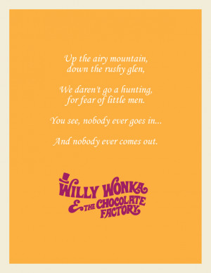 Willy Wonka & the Chocolate Factory (1971) Screenplay by Roald Dahl ...