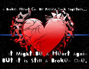 ... of broken hearts with quotes Pictures of Broken Hearts with Quotes