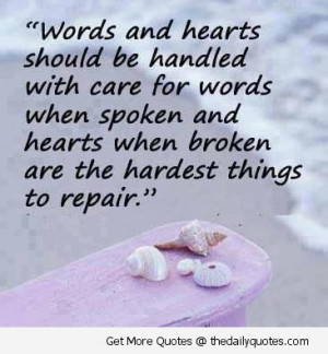 love broken heart quotes and sayings