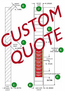 custom rack quote model custom price $ 0 00 shipping weight 0 quantity ...