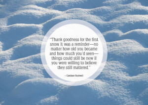 25 Nice Quotes About winter and snow 003