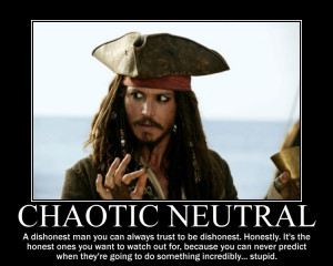 Chaotic Neutral Jack Sparrow by 4thehorde