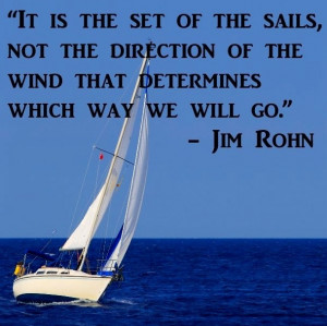 Set of sails quote