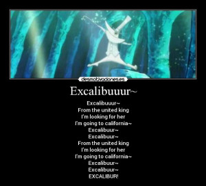 Excalibur quote