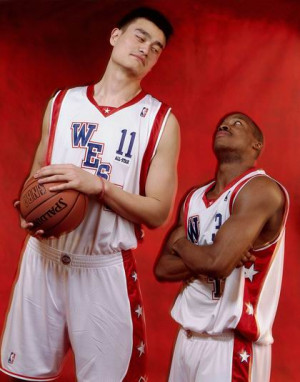 Steve Francis and Yao Ming: Real Friends